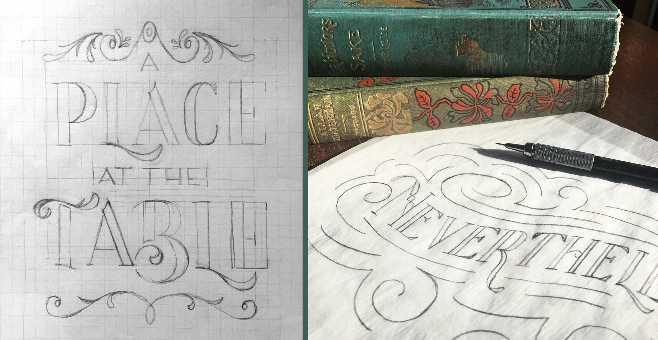 Emily knapp design sketch to vector lettering sketch to vector sketches altavistaventures Image collections